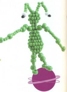 Инопланетянин из бисера