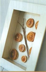 Апельсины в рамке