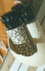 Мозаика из страусового яйца