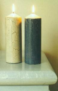 Потрескавшиеся свечи