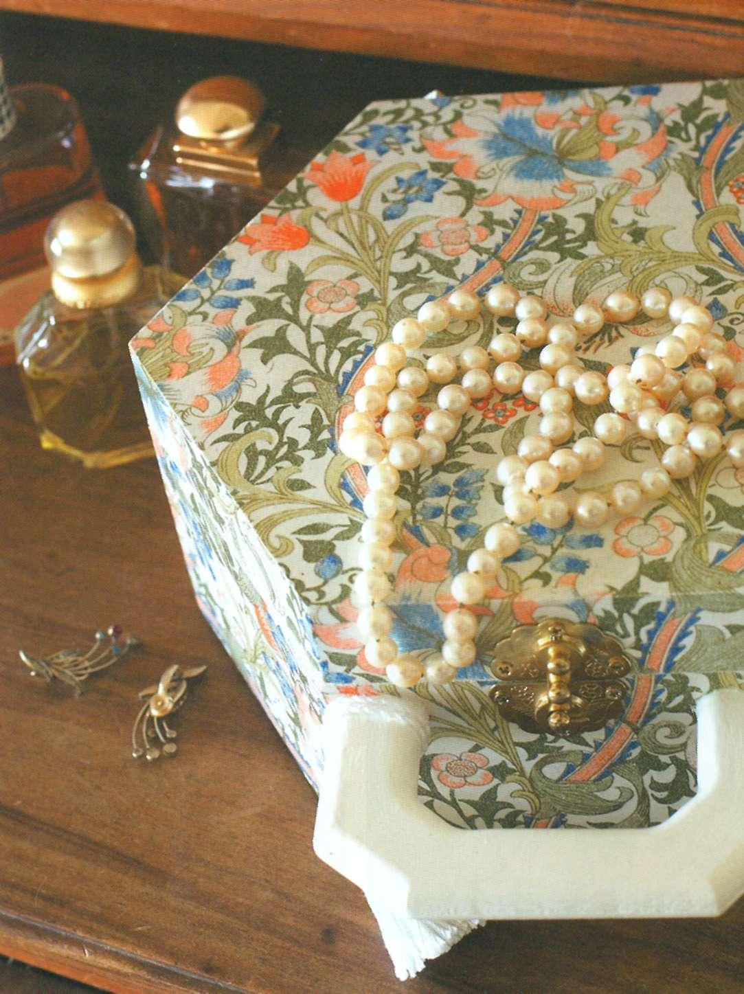 Декорирование шкатулки своими руками фото