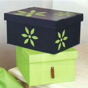 Украшенные коробки для мелочей