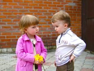 Сценарий первого знакомства
