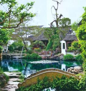 Сады Сучжоу в Китае